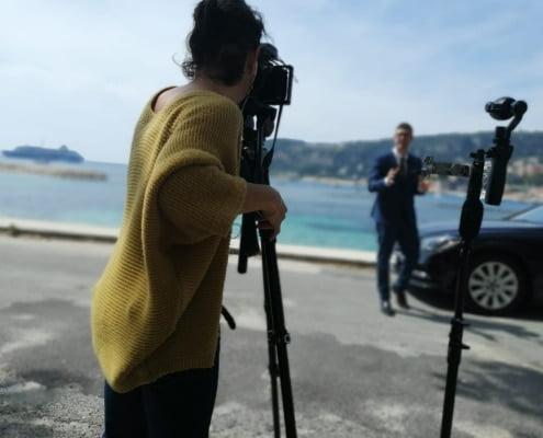 Production audiovisuelle à Nice